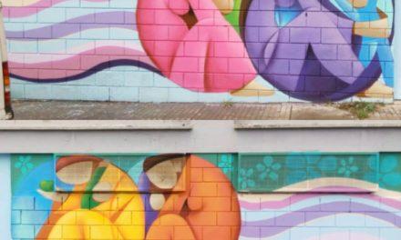 muro para centro Cáritas, barrio «Colorines», Badajoz