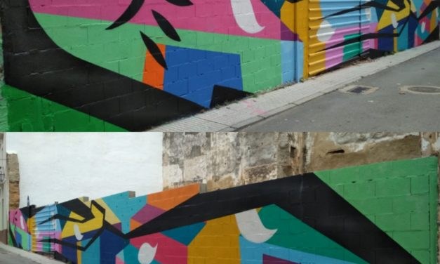 "Mural Colaborativo ""AAVV Casco Antiguo"", Badajoz"