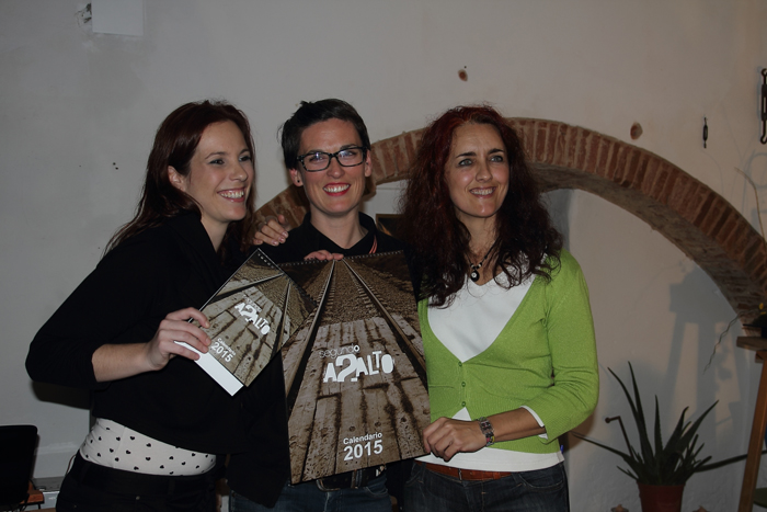 Presentación Calendario Solidario . Denominación Artística. Badajoz.