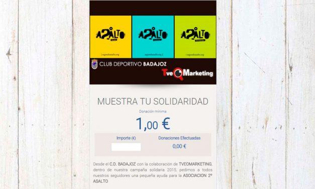El CD Badajoz apoya nuestros proyectos.