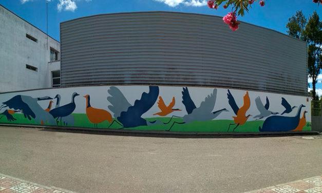 Mural Colaborativo. IESO. San Ginés. VVA. del Fresno. Badajoz