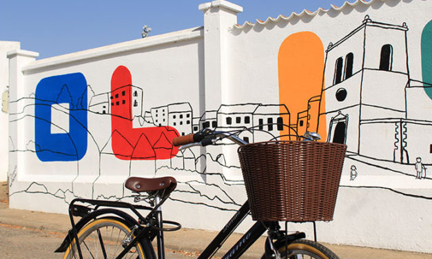 Mural colaborativo 1º Festival Arte Urbano, Olivenza, Badajoz