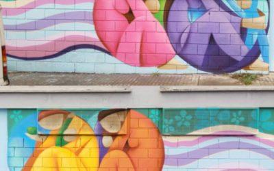 "muro para centro Cáritas, barrio ""Colorines"", Badajoz"