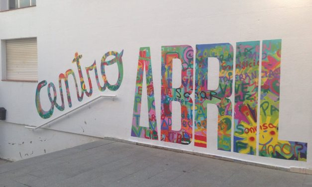 "Mural Colaborativo ""Centro ABRIL"" Badajoz"